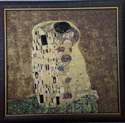 История написания картины Густава Климта «Поцелуй»