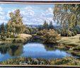 Картина Гобелен  Пейзаж с березами