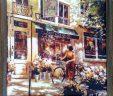 Шелкография Французская улочка
