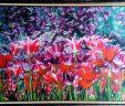 Картина Шелкография  Весна